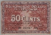 [French Indochina 50 Cents Pick:P-87d]